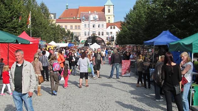 Svatomichaelské slavnosti se blíží. Hlavní část programu se odehraje příští pondělí na náměstí.
