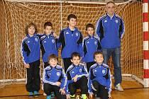 Mladí fotbalisté FŠ Most.