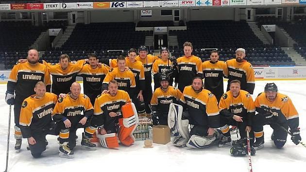 Stříbrný tým HC Cheza Litvínov.