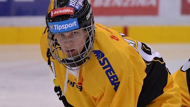 Šestnáctiletý litvínovský hokejista Jan Myšák.