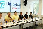 Extraligový HC Verva Litvínov uspořádal ve čtvrtek předsezonní tiskovou konferenci, na které představil své cíle pro nový ročník hokejové extraligy.