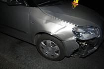 Nehoda.