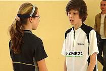 Lukáš Zischka společně s Veronikou Dobiášovou patří mezi nejlepší hráče kategorie třináctiletých.