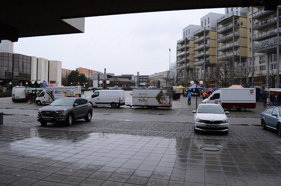 Severočeský farmářský trh na 1. náměstí v Mostě v sobotu 23. ledna. Další bude  24. dubna, 25. září a 18. prosince.