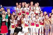 Mostecký tým Sluníček bral na mistrovství republiky zlaté medaile.