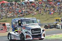Vrcholný podnik závodní sezony v Mostě Czech Truck Prix.