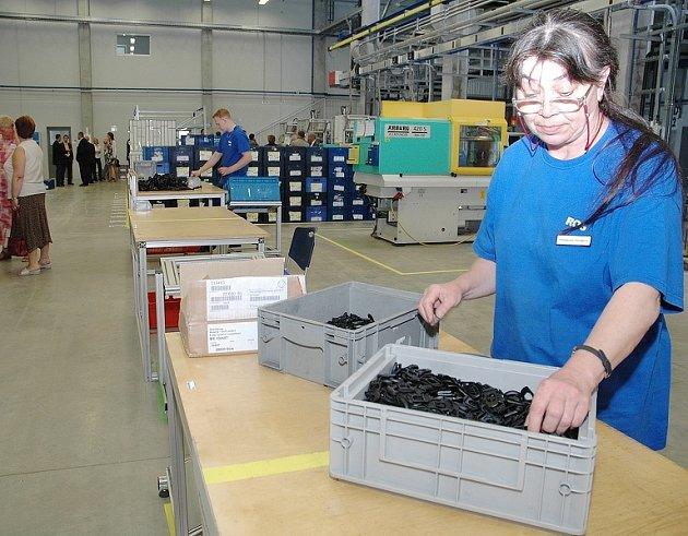 Věnceslava Volrábová našla práci v německé firmě ROS.