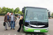 Elektrobus pro litvínovskou MHD.