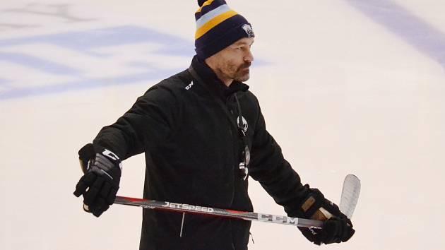 Litvínovský trenér Vladimír Országh.
