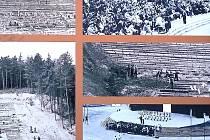 Amfiteátr na Resslu po polovině minulého století.