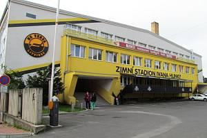 Zimní stadion Ivana Hlinky v Litvínově.