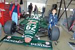 The Most Historic Grand Prix 2018. Tyrrell 011