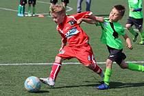 Kluci z Mosteckého fotbalového klubu váleli na turnaji v Ústí nad Labem.