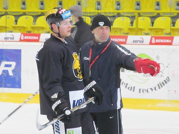 Miloslav Hořava na čtvrtečním tréninku. V klubu působí jako externí konzultant.