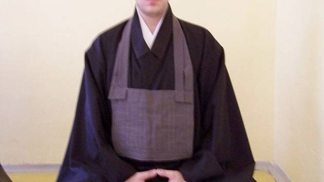 Mnich  Ban sei, vlastním jménem Radek Steiger.