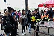 Projekt, který varuje zejména mladé, tedy žáky a studenty, před nebezpečím při provozu na železnici projede Ústeckým krajem, kam se vrací po desetil letech.