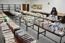 Burza knih v Mostě