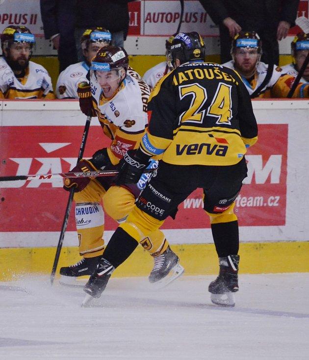 Ve třetím kole play out hostil Litvínov Jihlavu.