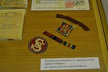Nové artefakty v památníku obětem 2. světové války.