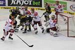 Hokejisté Litvínova hostili České Budějovice