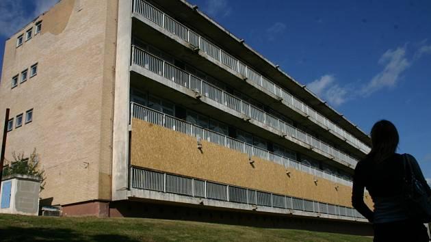 Budova bývalého infekčního oddělení.