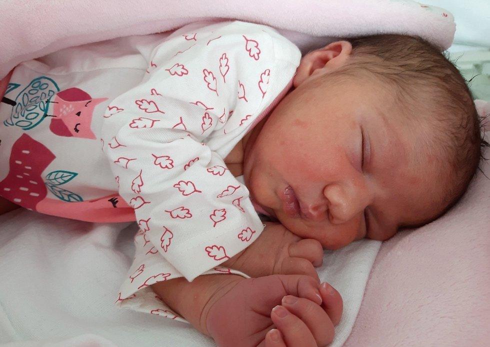 Sandra Biharyová se narodila mamince Angelice Biharyové z Litvínova 12. února ve 2.50 hodin. Měřila 49 cm a vážila 3,32 kg.