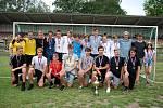 Starší žáci fotbalového Litvínova.