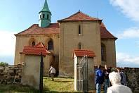 Kostel sv. Jakuba v Bedřichově Světci.