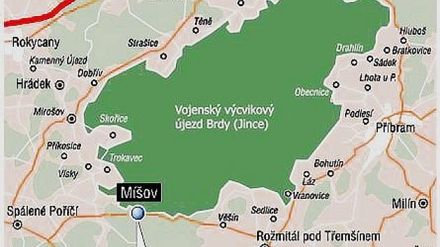 Radar americké protiradarové obrany by mohl být u obce Míšov na Plzeňsku. Vláda vybrala právě toto místo pro finální měření, která rozhodnou o případném umístění radaru v Česku.