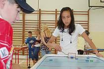 Tereza Nguyenová vyhrála na turnaji 10. ZŠ Most kategorii dívek.