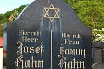 Židovský hřbitov v Mostě.