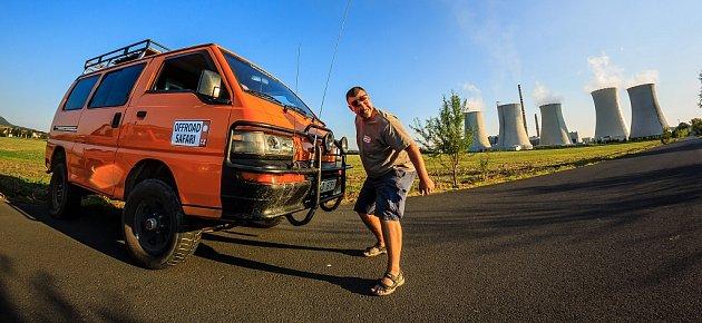 Bývalý dispečer kamionové dopravy a chodbař na šachtě Martin Bareš je průvodcem po průmyslovém severu.
