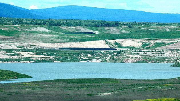 Jezero Most. Červen 2009.