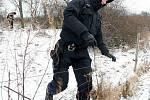Policisté v rojnicích pátrají po pohřešovaném muži z Mostecka