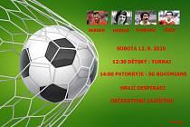 V Patokryjích se odehraje exhibiční fotbal - Poslední zápas Pepíka KÁ