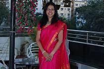 Trenérka Super Stars Most Martina Krocová při dvoutýdenním kempu v Indii.