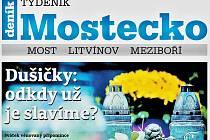 Týdeník Mostecko z 31. října 2018