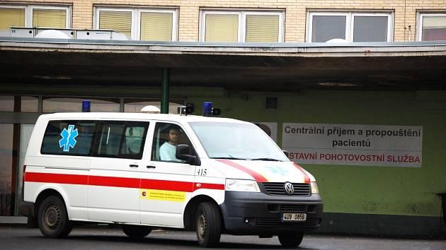 Mostecká nemocnice.
