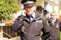 Zdeněk Urban, velitel Městské policie Litvínov.