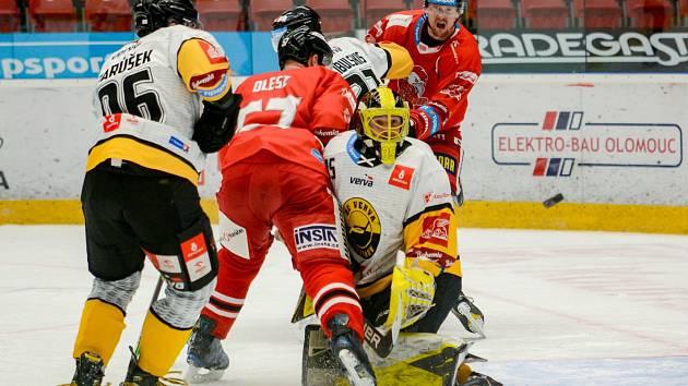 Duel Olomouc versus Litvínov.