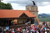 Hvězdárna na hradě Hněvín.