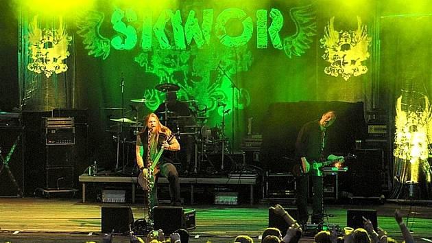 Koncert kapely Škwor.