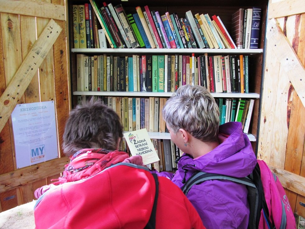 Litvínov má svou knihobudku. Vznikla z bývalé pokladny na Loučkách