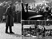 Začátek okupace 21. srpna 1968 v Mostě