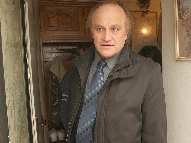 Michael Kocáb v Janově.