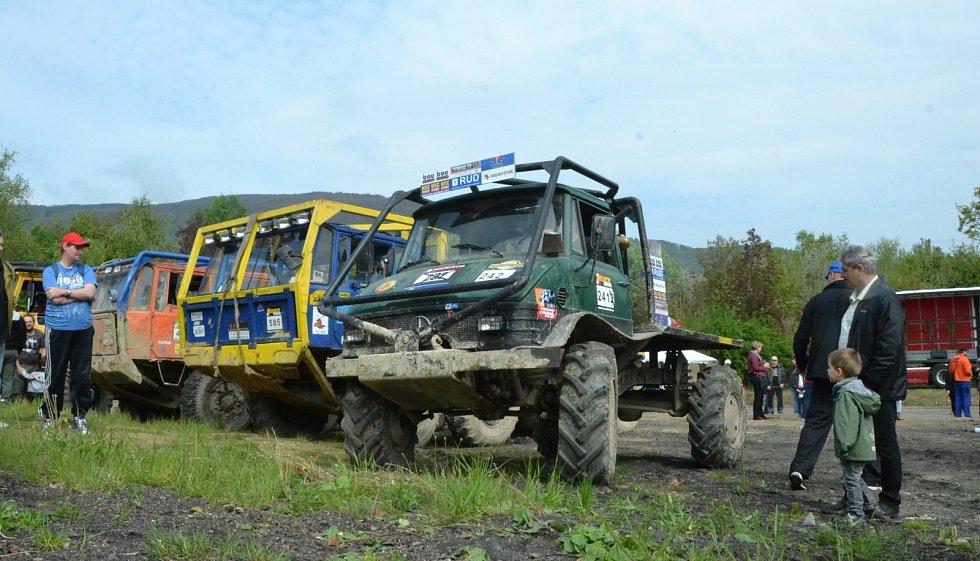 Truck Trial Show v Horním Jiřetíně.