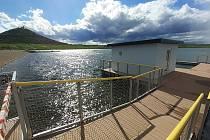Jezero Most leží na okraji města Most, poblíž vrchu Hněvín. K jezeru jezdí autobus MHD číslo 16.