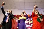 Vietnamská oslava v Litvínově.
