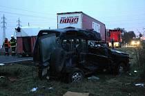 Tragická dopravní nehoda u Havraně