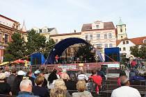 Svatomichaelská slavnost na litvínovském náměstí.
